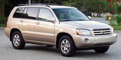 2005 Toyota Highlander Base (Bluestone Metallic)