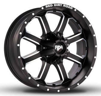 "Sell 18"" RDR Offroad DIRT Black Machined 18x9.0 RDR # RD-01 Wheels Chevy Ford Dodge motorcycle in Victorville, California, US, for US $850.00"