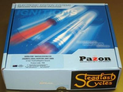Find PAZON electronic ignition system Triumph Norton BSA 12V 1963 to 1979 twins motorcycle in Canyon Country, California, US, for US $128.00