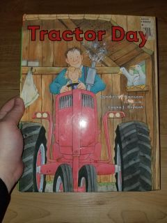 Tractor day hardcover