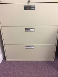 3 Drawer Hon File Cabinet