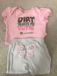 John Deere outfit