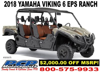 2018 Yamaha Viking VI EPS Ranch Edition Side x Side Utility Vehicles Sacramento, CA