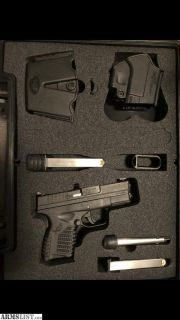 For Sale: FS XDS 45 with Trijicon night sights