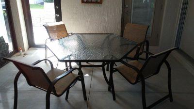 Lanai patio furniture