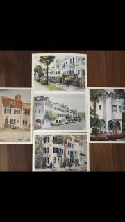 Collection of Bruce W. Krucke Yonges Island, South Carolina Postcards