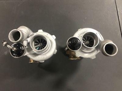 Pair Of Garrett Dual Ball Bearing Turbos GTX2976R