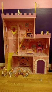 Wooden Play House made by KidCraft (for dolls, etc)