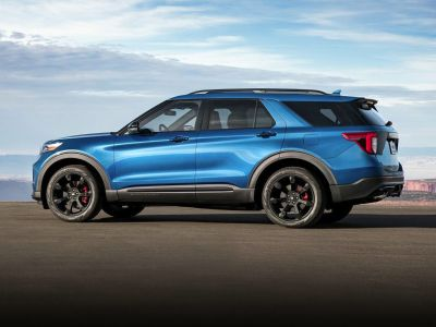 2020 Ford Explorer ST (White)