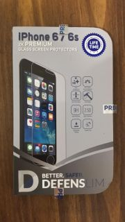 (2) iPhone 6/6s glass screen protectors *Brand New*