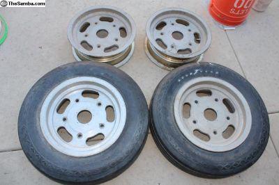 """15"""" x 5.5"""" Ansen Wide 5 Aluminum Rims"""
