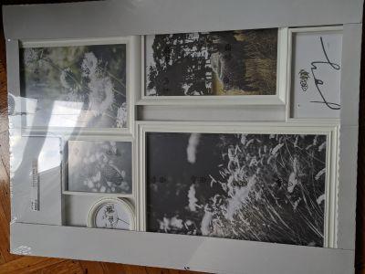 Gallery frame (6 photos), white