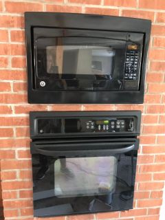 27in Built in microwave/wall oven combo