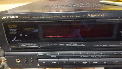Optimus3300 digital video-stereo receiver