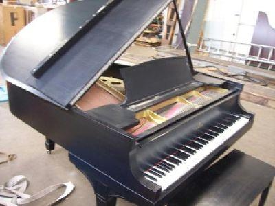 $16,500 ~~~Beautiful Satin Ebony Steinway Grand Model 'O'~~~