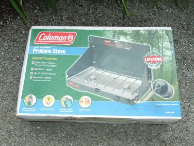 Coleman 2-Burner Propane Cook Stove ~ New in Box