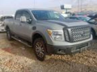 Salvage 2017 NISSAN TITAN XD SL for Sale