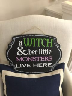 A witch &her little monsters live here