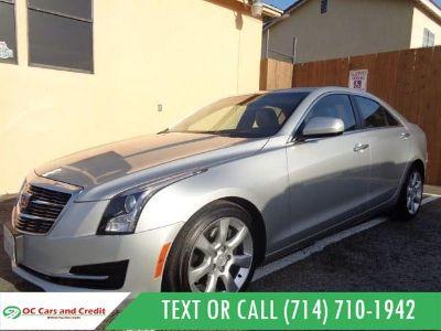 2015 Cadillac ATS (Silver Coast Metallic)
