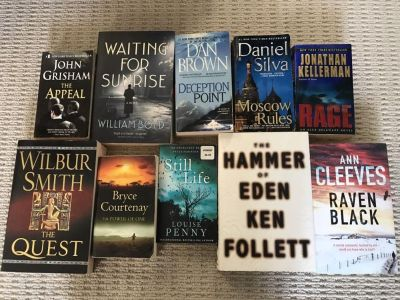 10 books for 10$
