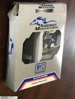 For Sale: Anderson New Gen 2 LPK s AR-15