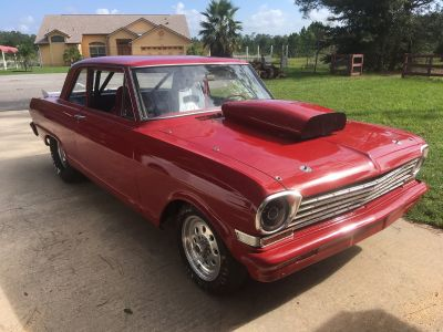 1963 Chevy nova pro street drag race car no engine &