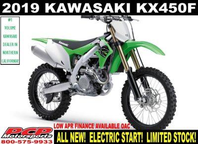 2019 Kawasaki KX 450 Motocross Motorcycles Sacramento, CA