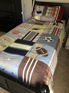 Pottery Barn Sports Quilt