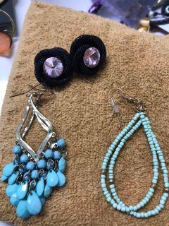 Fashionable earrings!