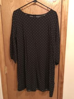 Women's XL dress, Old Navy, worn once like new