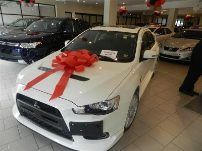 2015 Subaru Lancer Evolution 4dr Sdn Man GSR (White)