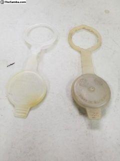 Bug/Ghia Early Windshield Washer Bottle Caps