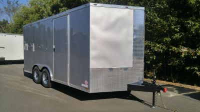 2018 Other New 8.5x16 TA V-Nose Enclosed Trailer