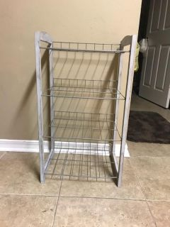 DISTRESSED DOVE GREY COUNTRY shelf
