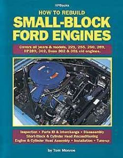 Buy HP Books 0-912-656891 Book: How to Rebuild Small-Block Ford Engines motorcycle in Delaware, Ohio, United States, for US $18.65