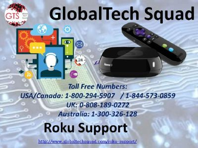 Roku Support Phone Number | Toll Free 1-800-294-5907