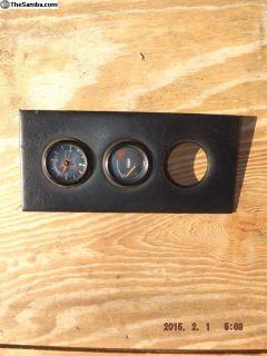 Porsche 914-4 Center Console Gauge Panel