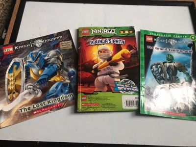 LEGO action and Ninjago book set