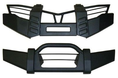 Find YAMAHA GRIZZLY 550 & 700 FRONT & REAR BRUSH GUARD (Black) -NEW- motorcycle in Hanover, Indiana, US, for US $269.95
