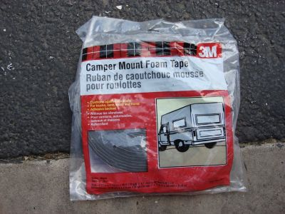 NEW ROLLS OF CAMPER MOUNT FOAM TAPE
