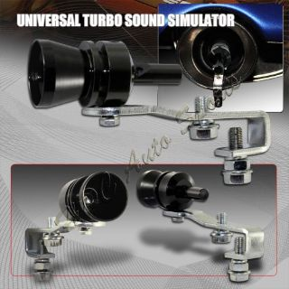 Buy M-Size BK Fake Turbo Sound Exhaust Blow off Valve Simulator Whistler Universal 3 motorcycle in Walnut, California, United States
