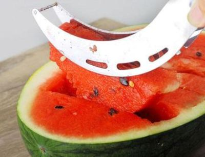 3 in 1 stainless steel professional watermelon slicer