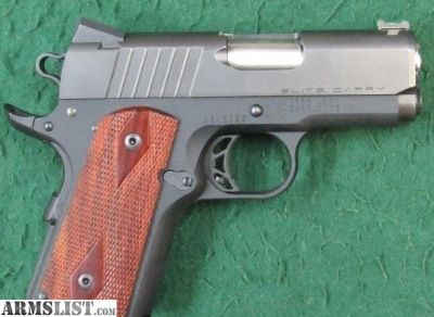 "For Sale: Para Ordnance USA Elite Carry 1911 3"" 45"