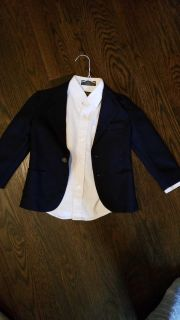 Sprokets navy blazer size 5 and Arrow white button up size 5