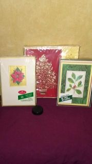 3 boxes of Christmas cards