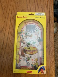 New Curious George pinball game