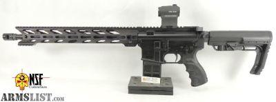 For Sale: NCR-1 AR-15, BA Barrel, Nickel BCG, STNGR
