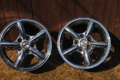 "$350 JEEP Rims - 17"" steel chrome - set of 4 w/sensors - Penacook, NH"