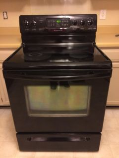 Frigidaire Black Smooth Top Electric Stove
