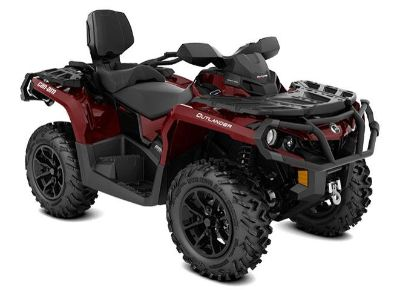 2018 Can-Am Outlander MAX XT 570 ATV Utility ATVs Lakeport, CA